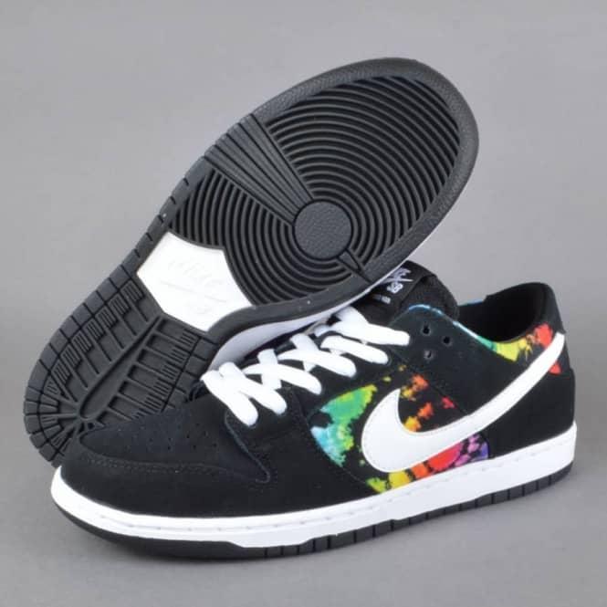 the latest c91af 5ce68 Dunk Low Pro IW Skate Shoes - Black White-Multi Colour
