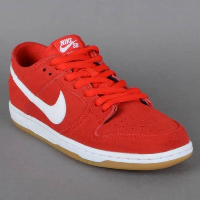 1e415659aa54 ... Dunk Low Pro IW Skate Shoes - University RedWhite-Gum Light Brown NIKE  SB DUNK LOW PRO ISHOD WAIR university ...