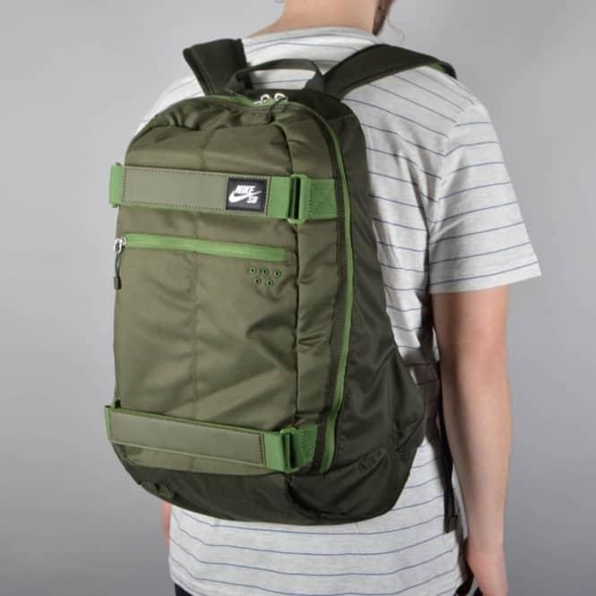 3ad956c2dae7 Nike SB Embarca Medium Skate backpack - Cargo Khaki Sequoia Treeline ...