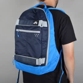 Nike SB Embarca Medium Skate Backpack - Photo Blue/Obsidian/Wolf Grey