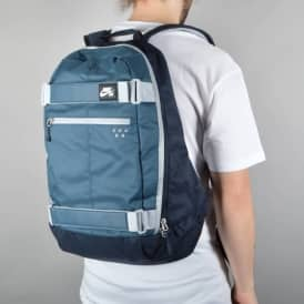 Nike SB Embarca Medium Skate Backpack - Squadron Blue/Dark Obsidian/Wolf Grey