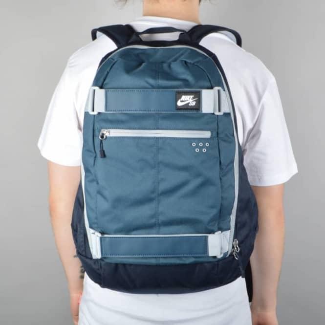 5410c6f9a629 Nike SB Embarca Medium Skate Backpack - Squadron Blue Dark Obsidian ...