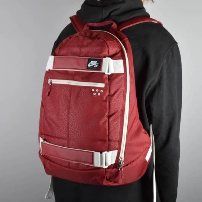 Nike Sb Embarca Skate Ryggsekk - Lag Rød / Lys Bein (hvit) mn9gCTXsK