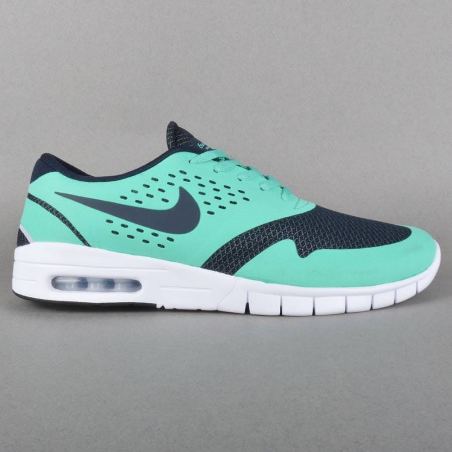 nike sb eric koston 2 max skate shoes crystal mint dark. Black Bedroom Furniture Sets. Home Design Ideas