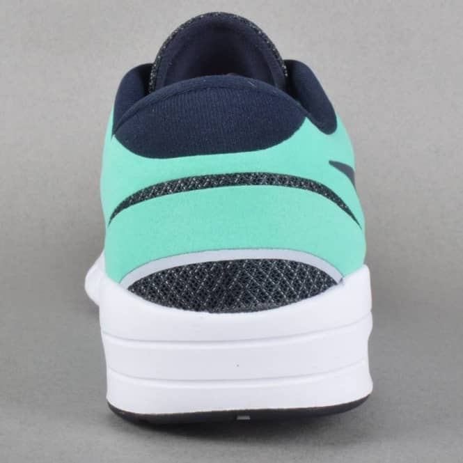 first rate new lifestyle factory outlet Eric Koston 2 Max Skate Shoes - Crystal Mint/Dark Obsidian-Wolf Grey