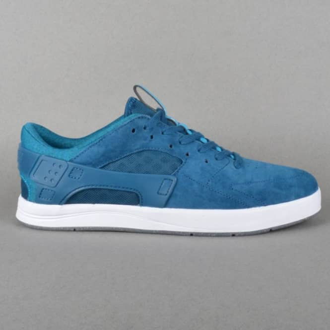 Nike SB Eric Koston Huarache Skate Shoes - Blue Force/Blue Lagoon-White
