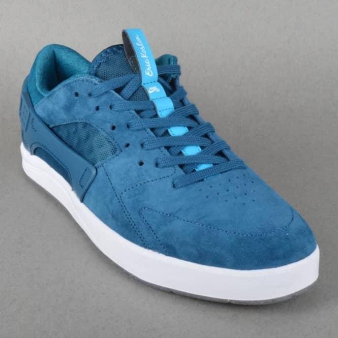 sale retailer 257bf a2c6d Eric Koston Huarache Skate Shoes - Blue ForceBlue Lagoon-White