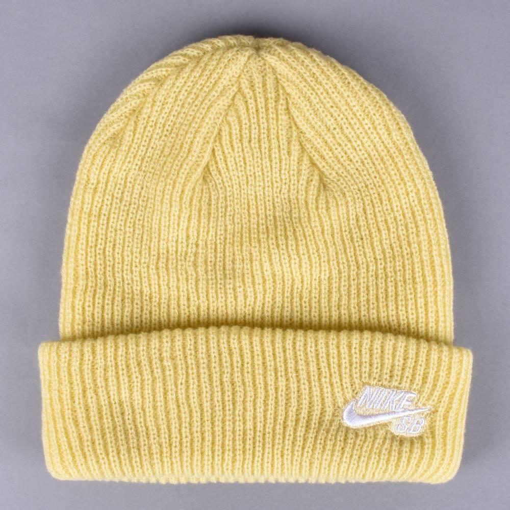 5a5481f3f96 Nike SB Fisherman Beanie - Lemon Wash White - SKATE CLOTHING from ...