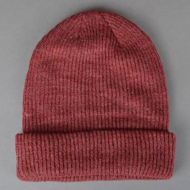sale retailer 4b602 a3245 Fisherman Beanie - Medium Team Red Heather White