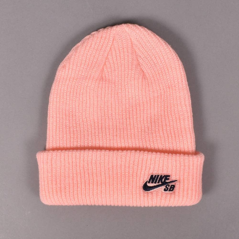 Nike SB Fisherman Beanie - Storm Pink Obsidian - SKATE CLOTHING from ... 0a025d9c4c9