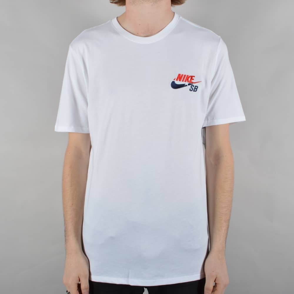 simplemente Armonía Correlación  Nike SB Futura Skate T-Shirt - White - SKATE CLOTHING from Native Skate  Store UK