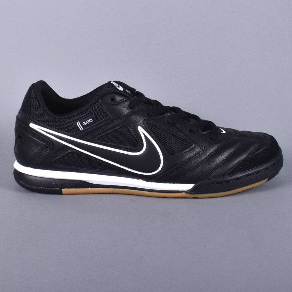 26f6fc8fa9ff Nike SB Gato Skate Shoes - Black Black-White - SKATE SHOES from ...