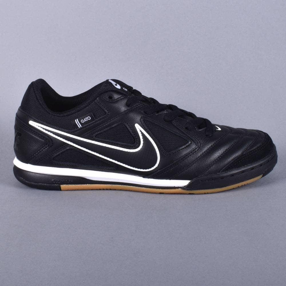 7a882287cd4 Nike SB Gato Skate Shoes - Black Black-White - SKATE SHOES from ...