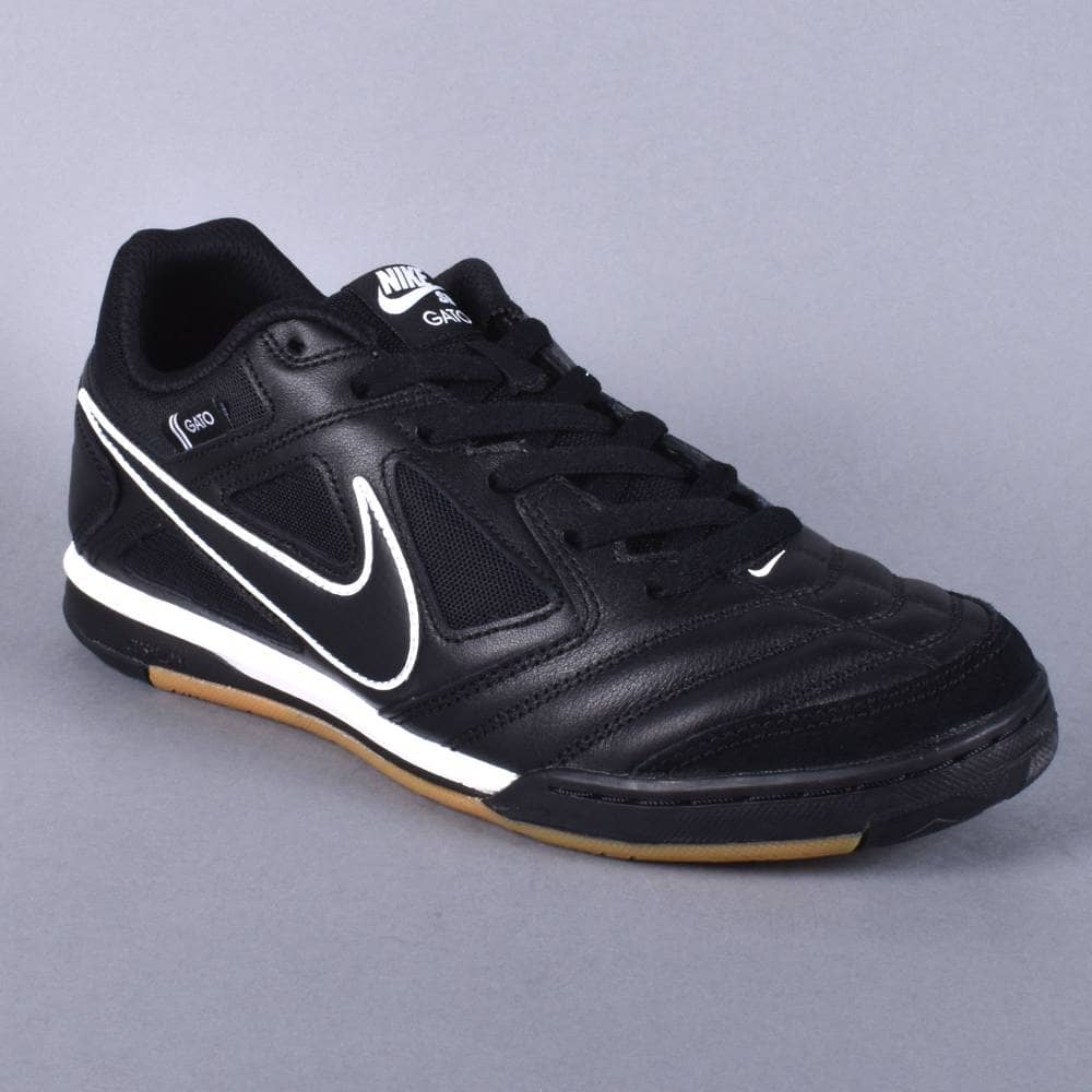994a6db8c86 Nike SB Gato Skate Shoes - Black Black-White - SKATE SHOES from ...