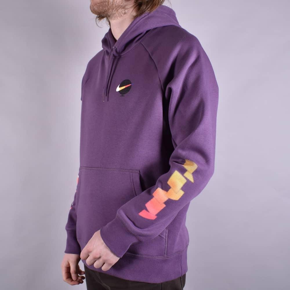 c1ea2f5ef37b Nike SB GFX Icon Pullover Hoodie - Pro Purple White - SKATE CLOTHING ...