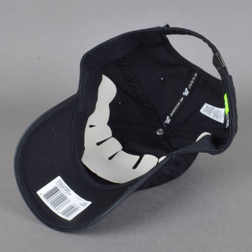 pick up 3de46 ad795 ... shop h86 strapback cap black black white 7bec9 87bc0