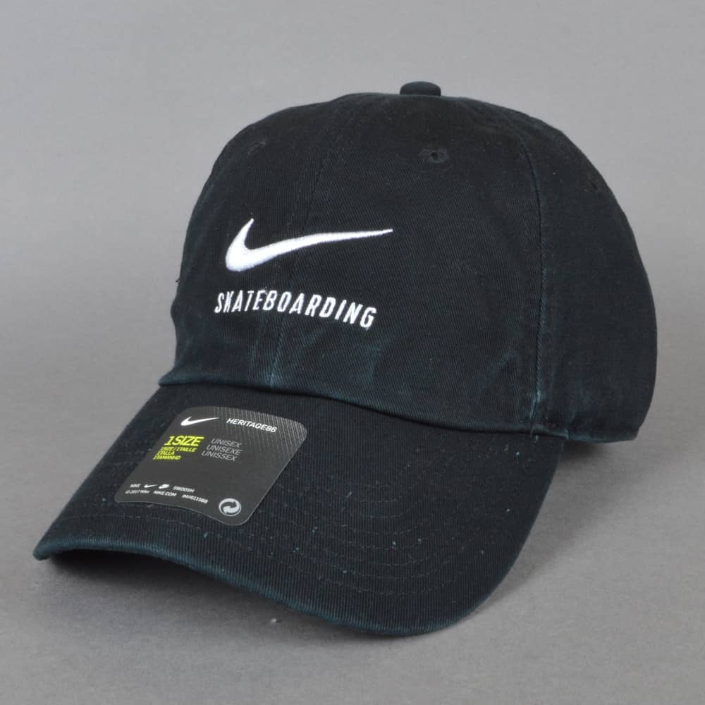 590038eebf4009 Nike SB H86 Strapback Cap - Black - SKATE CLOTHING from Native Skate ...