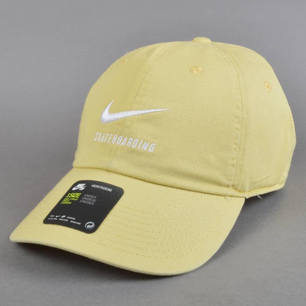 Nike SB H86 Strapback Cap - Lemon Wash Lemon Wash White - SKATE ... da1aa8e0504