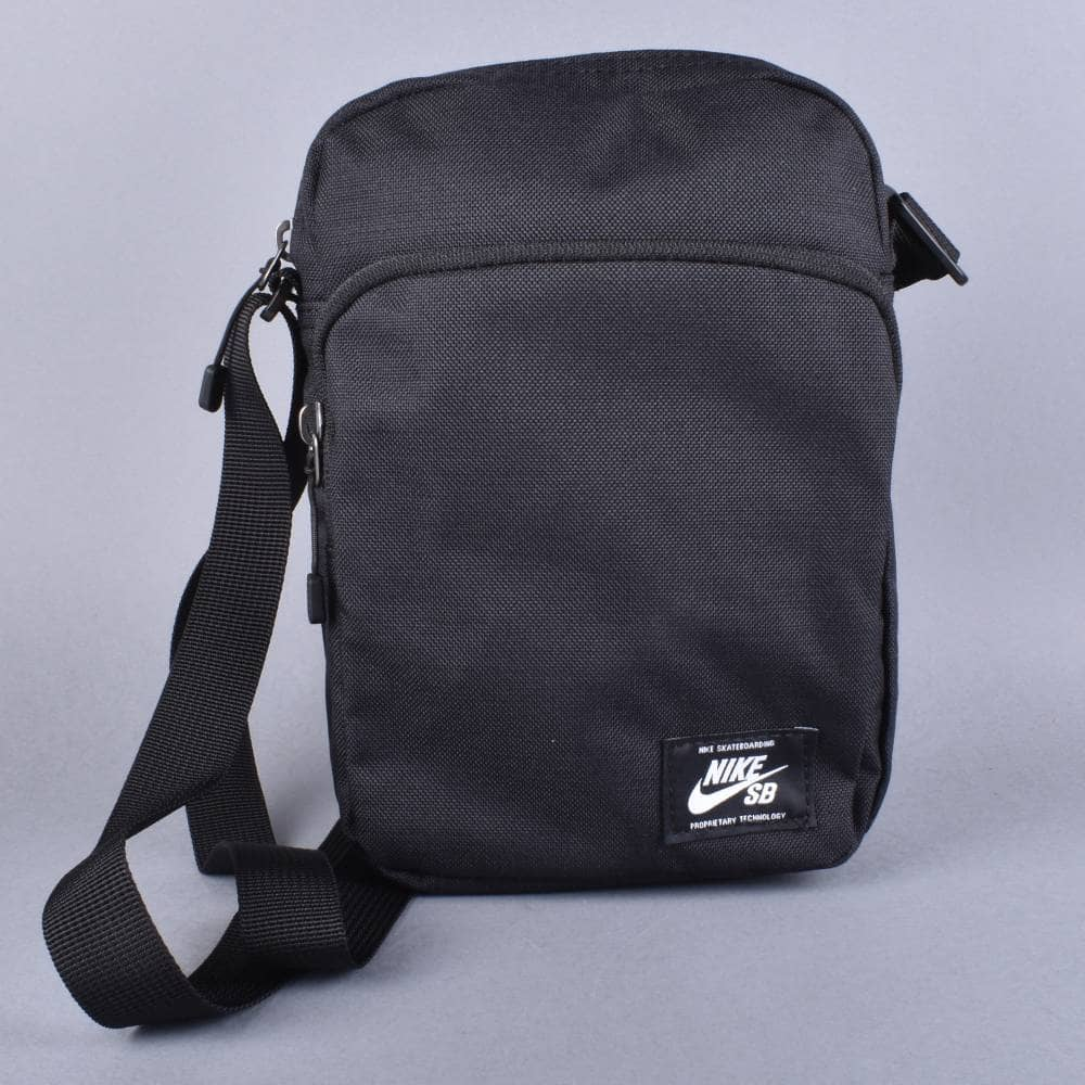 Nike SB Heritage Waist Pack Shoulder Bag - Black - ACCESSORIES from ... fe9d48c277feb