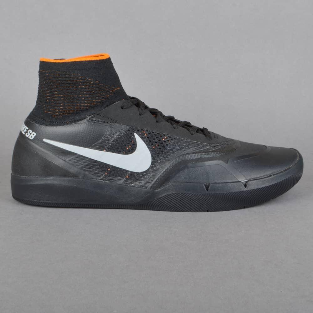 Hyperfeel Koston 3 XT Skate Shoes - Black/Silver-Clay Orange