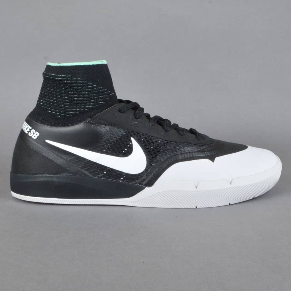 02b6d63eff1 Nike SB Hyperfeel Koston 3 XT Skate Shoes - Black White - SKATE ...