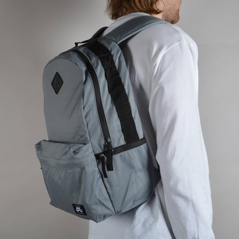 f8f4b51f49 Nike SB Icon Backpack - Cool Grey Black White - ACCESSORIES from ...