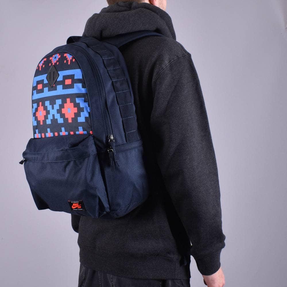 yo lavo mi ropa Sentimental habla  Nike SB Icon Backpack - Dark Obsidian/Bright Crimson - ACCESSORIES from  Native Skate Store UK