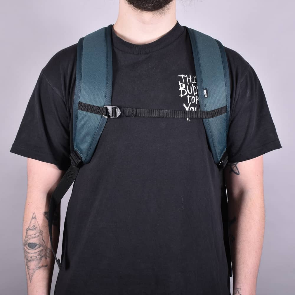 Icon Backpack - Deep Jungle/Black/White