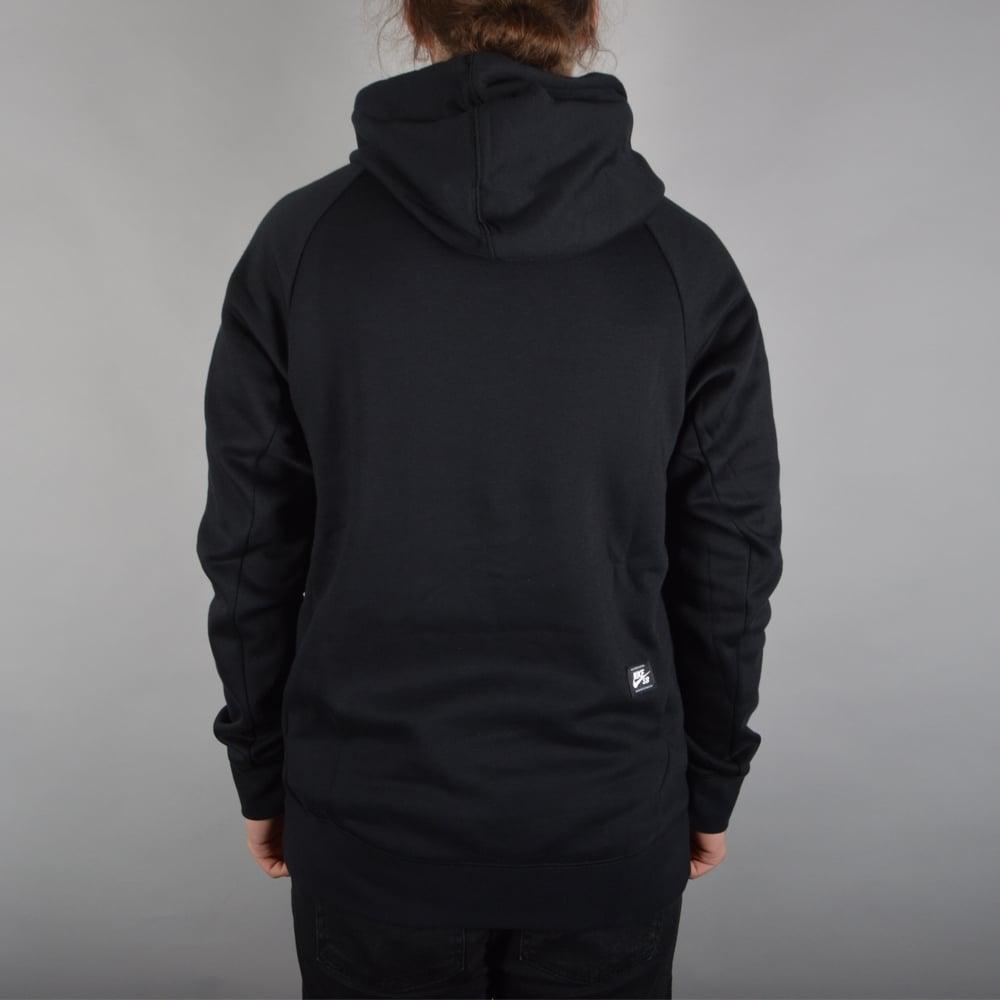 nike sb icon dots pullover hood black nike sb from. Black Bedroom Furniture Sets. Home Design Ideas