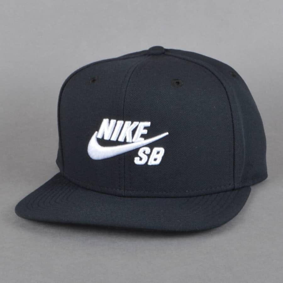 nike sb icon snapback cap black nike sb from native. Black Bedroom Furniture Sets. Home Design Ideas