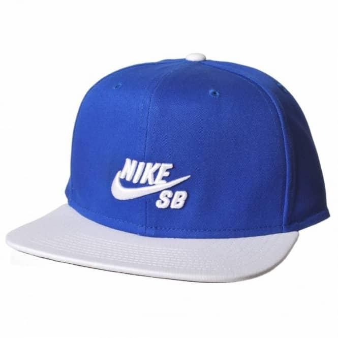 abaaef22 Nike SB Icon Snapback Cap - Royal/White - Caps from Native Skate ...