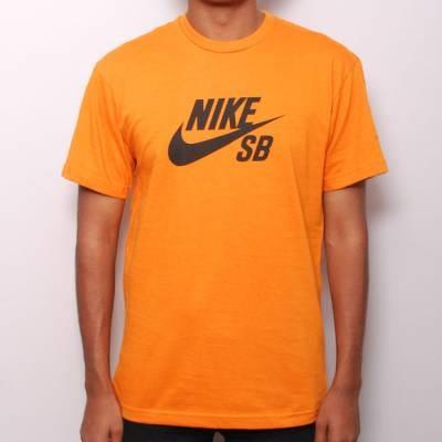 nike shirt orange