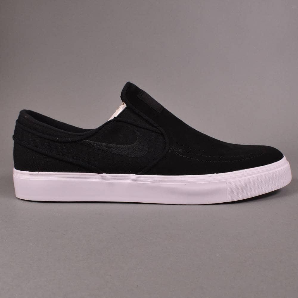 ever popular arrives presenting Nike SB Janoski Slip Skate Shoes - Black/Black-White