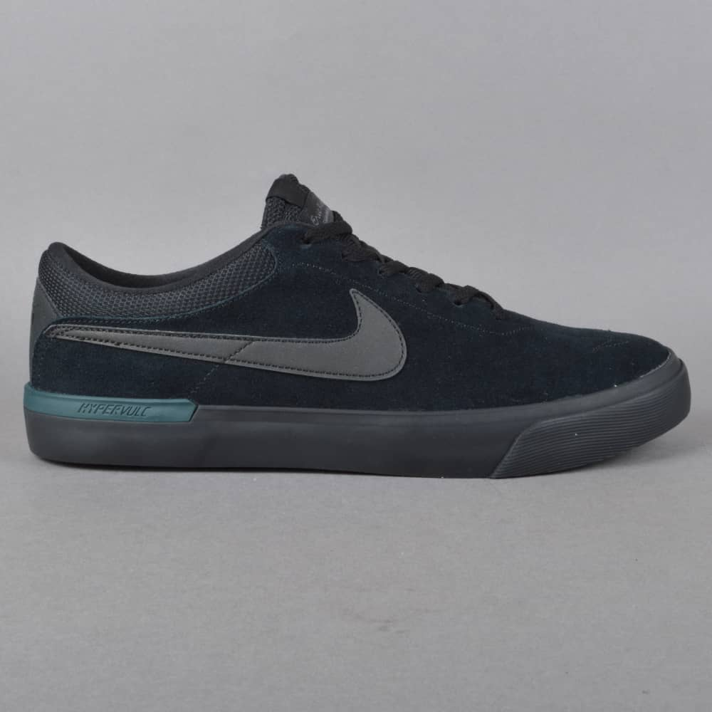 Nike SB Koston Hypervulc Skate Shoes - Black Metallic Black - SKATE ... fd6ae868c