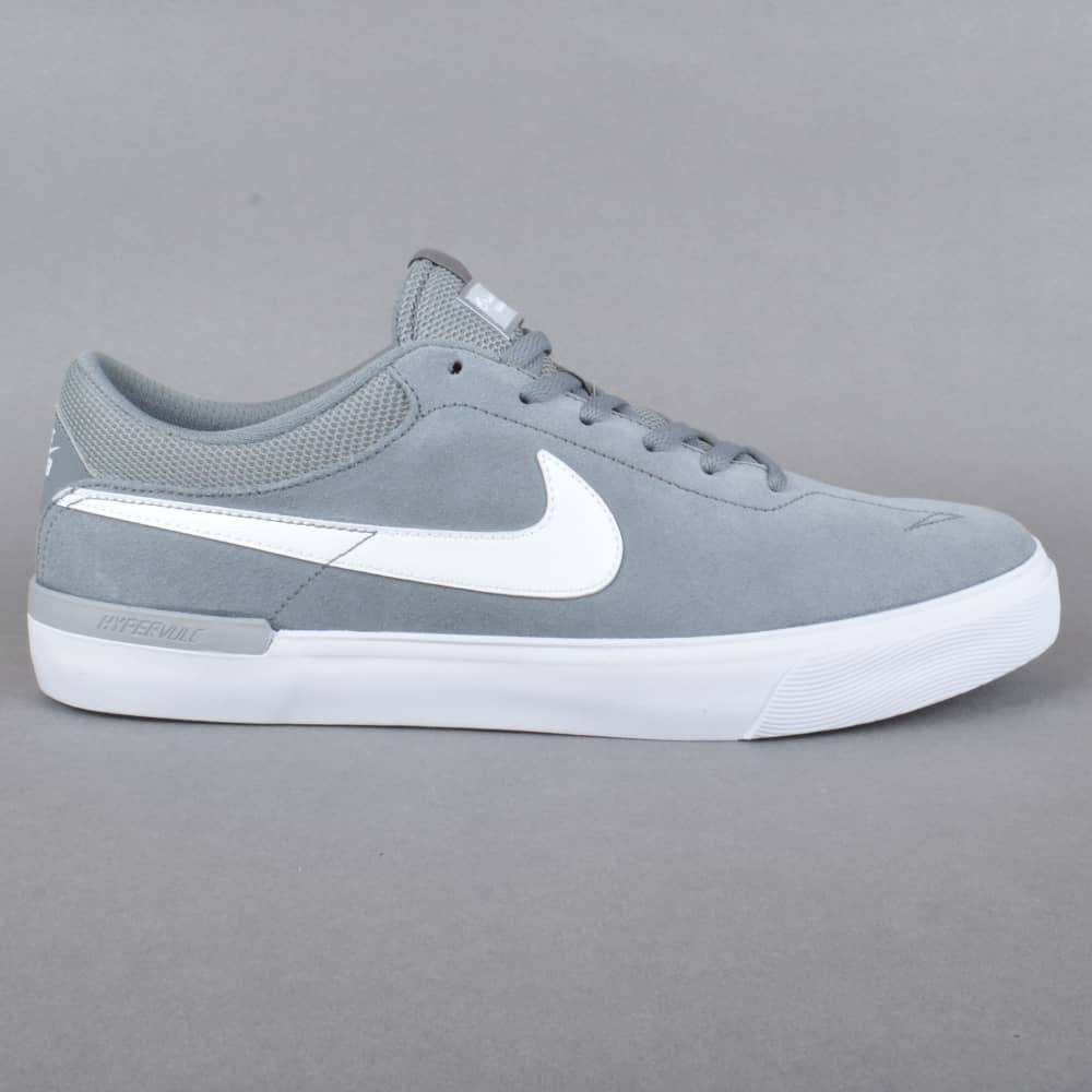Nike SB Koston Hypervulc Skate Shoes - Cool Grey White-Wolf Grey ... a2d6cfd57