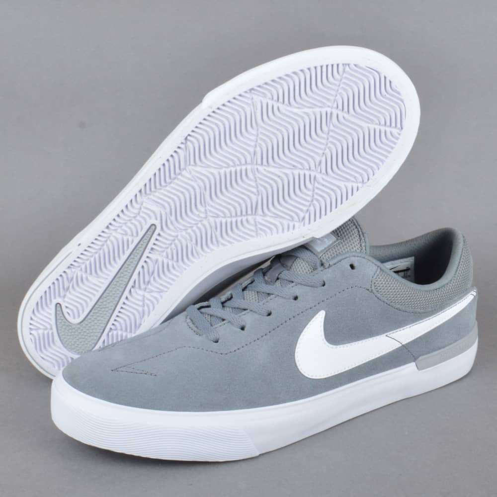 aafad0f8cc4 Nike SB Koston Hypervulc Skate Shoes - Cool Grey White-Wolf Grey ...