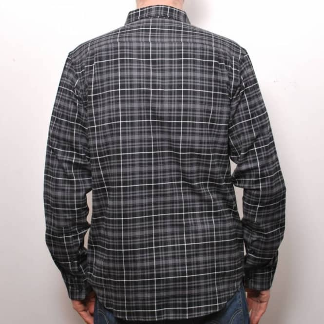 great deals exclusive range so cheap Local Union Long Sleeve Flannel Shirt Black