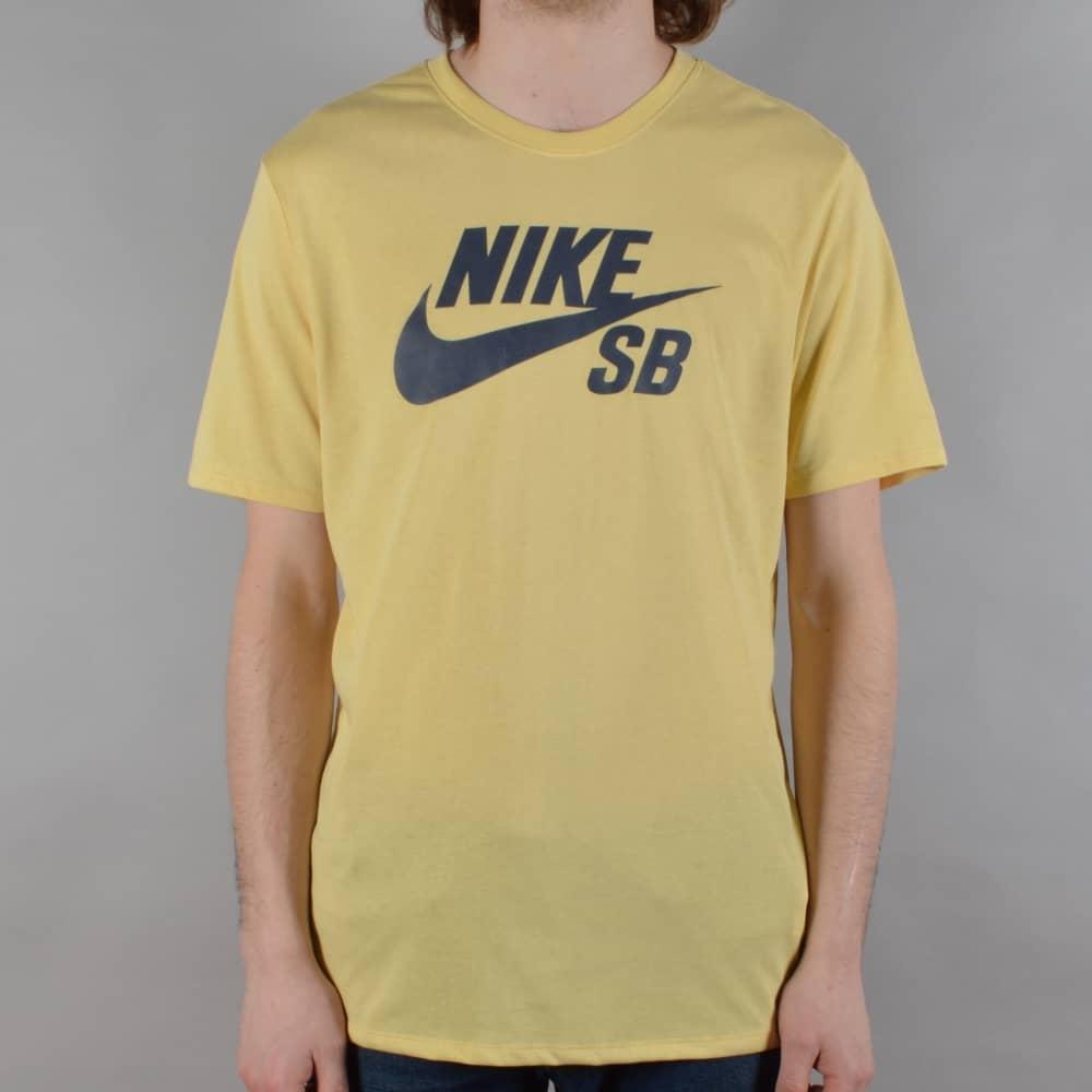 911d9ee9bfd9 Nike SB Logo Skate T-Shirt - Lemon Wash Thunder Blue - SKATE ...
