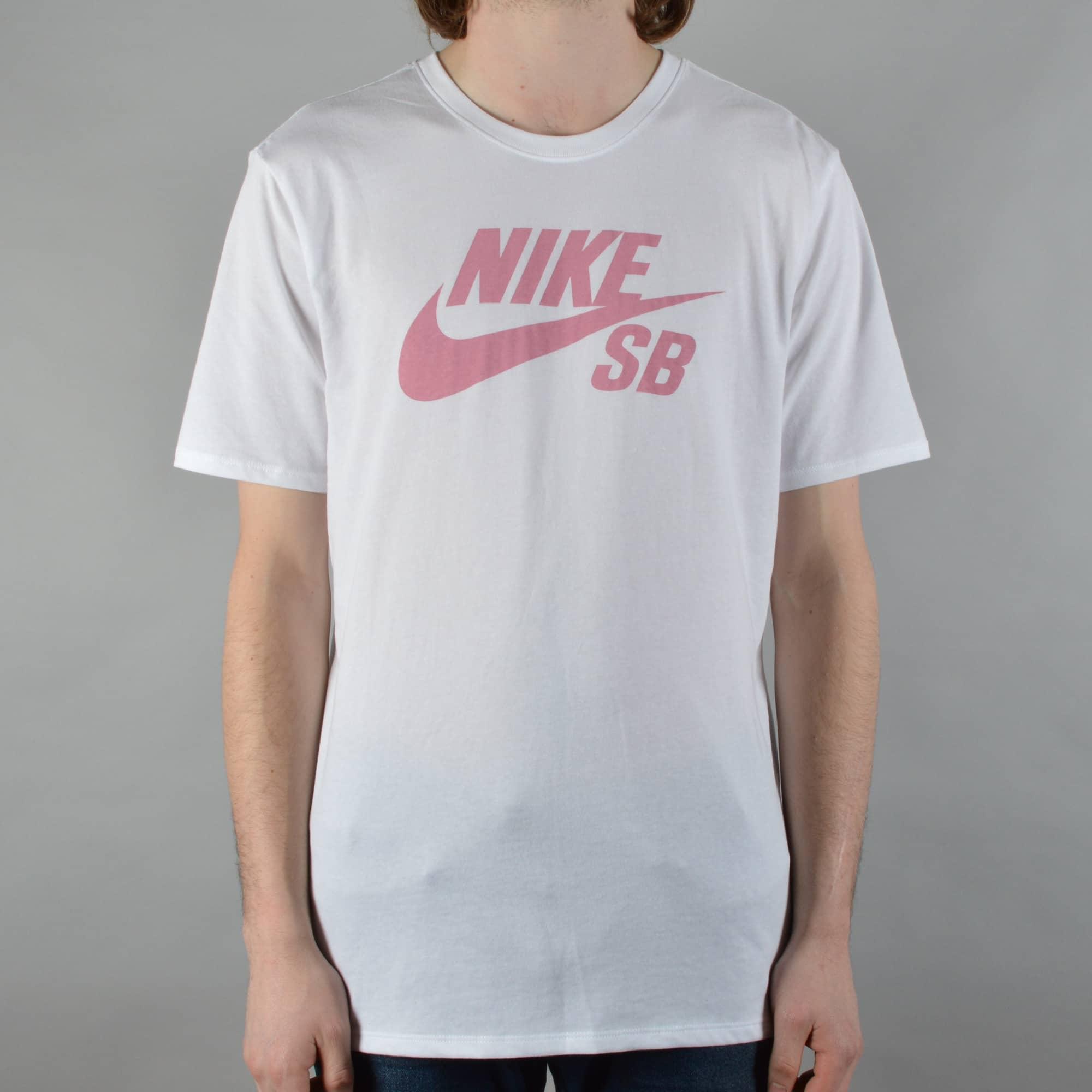 Nike SB Logo Skate T-Shirt - White