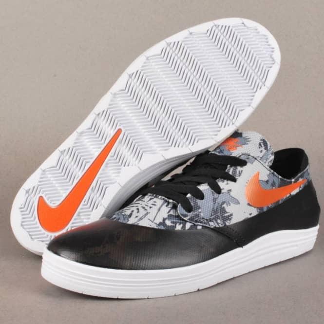 info for 8ab04 a3389 ... Lunar Oneshot SB WC Skate Shoes - BlackSafety Orange Nike ...