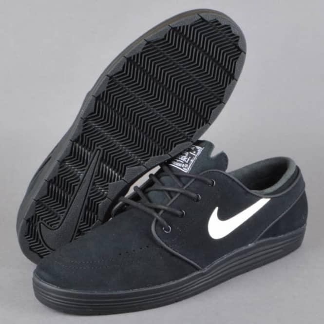 competitive price 88e2a 21cf1 ... Lunar Stefan Janoski Skate Shoes - BlackWhite . ...