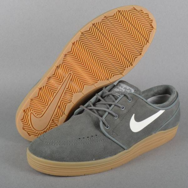 NIKE SB LUNAR STEFAN JANOSKI River Rock/Gum Light Brown/Sail