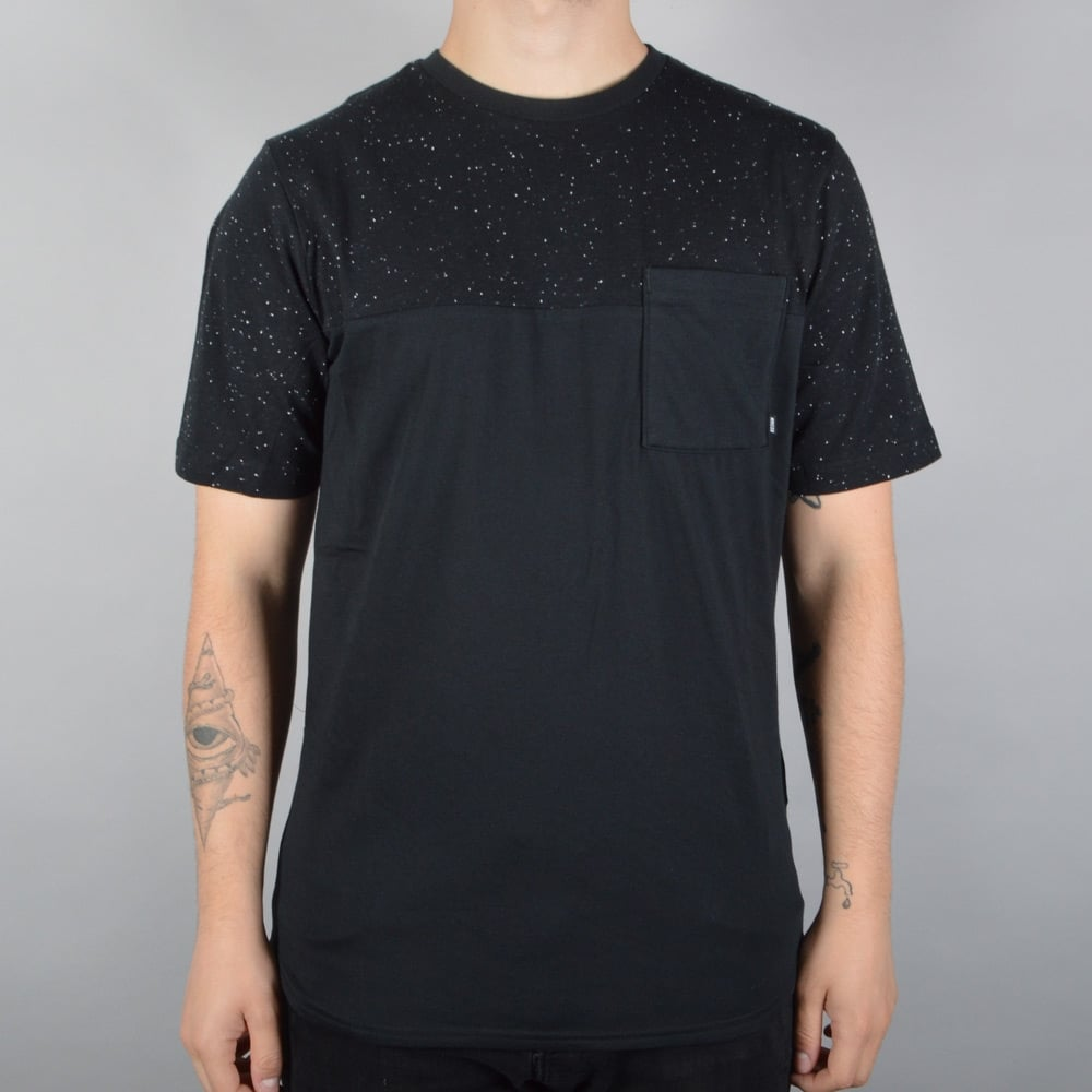 330fc3c8 Nike SB Nepps Pocket Dri-Fit Skate T-Shirt - Black - SKATE CLOTHING ...