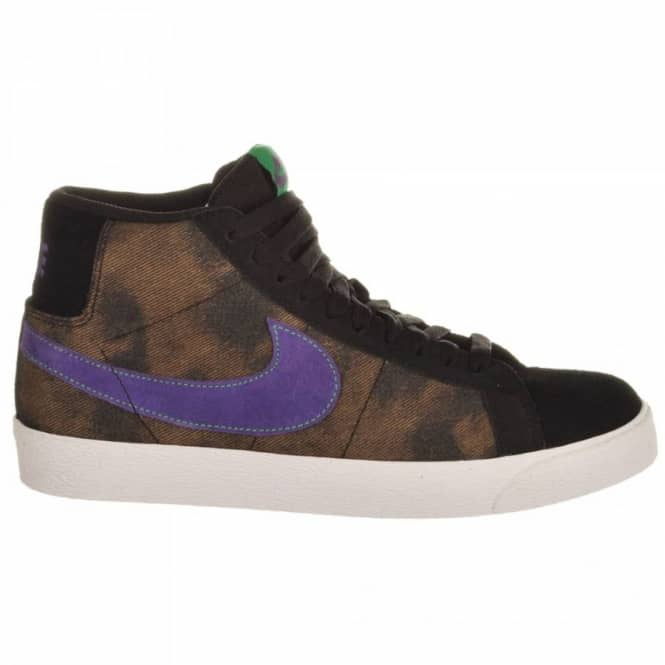 online store 075c0 50bb2 Nike SB Nike Blazer SB Black/Varsity Purple/Volt