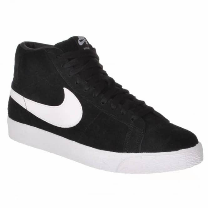 the latest 1ef7d e0136 Nike SB Nike Blazer SB Skate Shoes - Black/White
