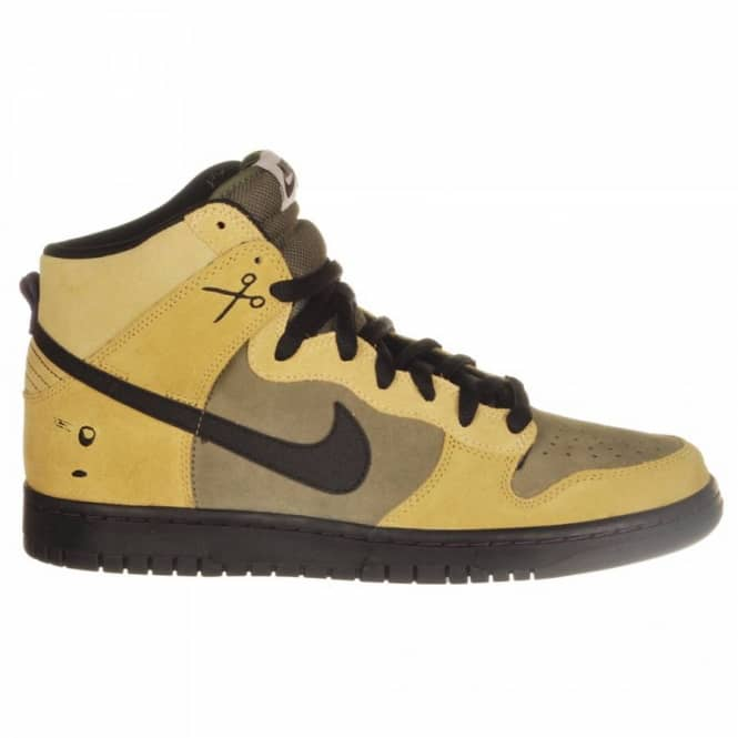 reputable site e7c3d 3dc86 Nike SB Nike Dunk High Premium SB Urban Haze/Black-Barley