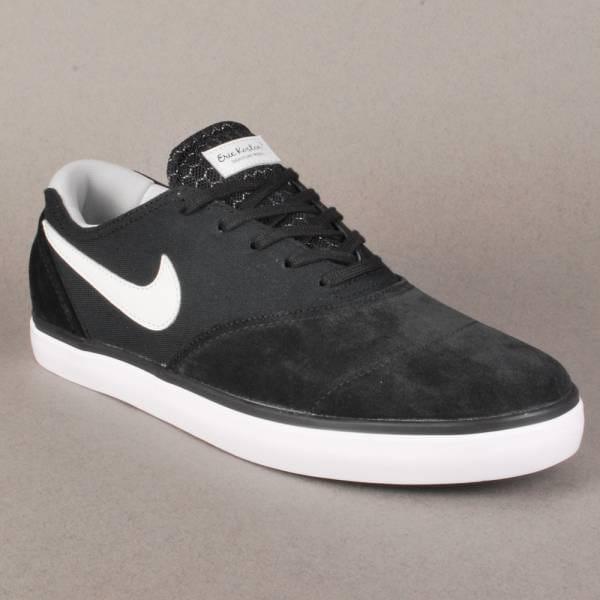 10de46cf65f7 Nike SB Nike Eric Koston 2 LR Skate Shoes - Black Light Base Grey ...