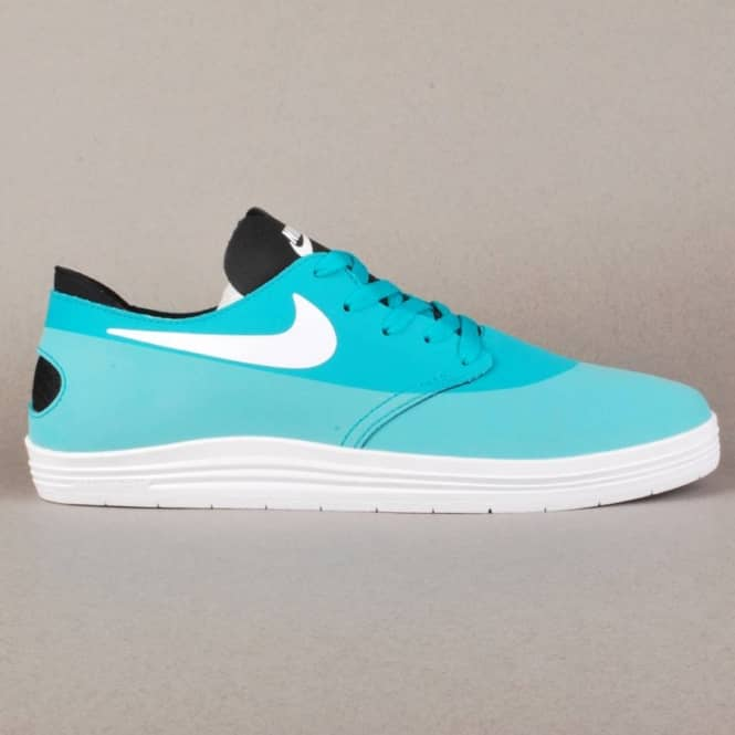 wholesale dealer eaf59 bf502 Nike Lunar Oneshot Skate Shoes - Turbo Green White-Black