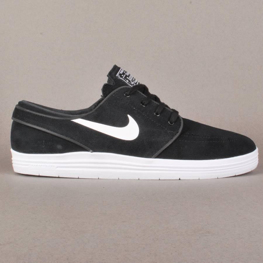 nike sb nike lunar stefan janoski skate shoes black
