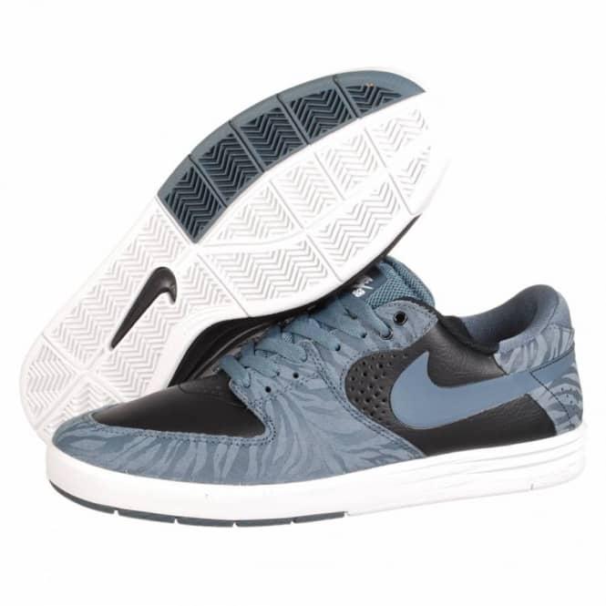 Nike Paul Rodriguez 7 Premium Skate Shoes - Armory Slate Armory Slate-Black 5c7022146729